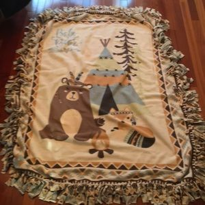 Other - Handmade fleece throw 🎉HP🎊